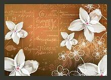 Fototapete Floral notes 210 cm x 300 cm East Urban