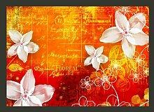 Fototapete Floral notes 245 cm x 350 cm East Urban