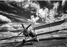 Fototapete Flugzeug 1.04 m x 152.5 cm East Urban