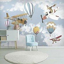Fototapete Flugzeug 3D Wandbilder Für Fernseher