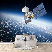 Fototapete Flugzeug im Weltraum Mauer Fresco Foto