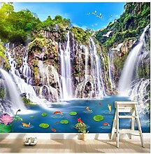 Fototapete Fototapeten-Art-Wasserfall PonFish