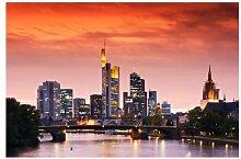 Fototapete Frankfurt Skyline
