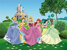 Fototapete FTDNxxl5003 Disney Princesses Prinzessin