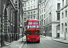 Fototapete FTNm2614 Photomurals London Bus
