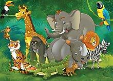 Fototapete FTNm2648 Photomurals Dschungel