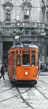 Fototapete FTNv2882 Photomurals Straßenbahn