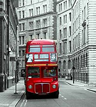 Fototapete FTNxl 2500 Photomurals London Bus