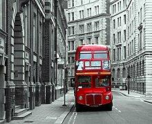 Fototapete FTNxxl1132 Photomurals London Bus