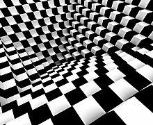 Fototapete FTNxxl1146 Photomurals, schwarz / weiß