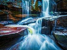Fototapete FTNxxl2426 Photomurals Wasserfall
