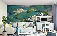 Fototapete für die Wand, Lotusblüte,
