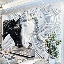 Fototapete für Wände 3D-Kunstmode-Wandbilder