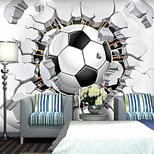 Fototapete Fußball 3D Wandbilder Für Fernseher