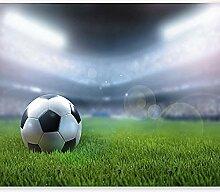 Fototapete Fußball Auf Dem Spielfeld 3D