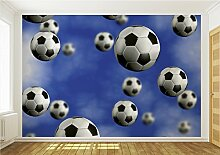 Fototapete FUSSBALL BALL STADION RASEN 187 P8