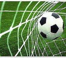 Fototapete Fußball Ins Netz 3D Wandbilder Für