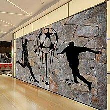 Fototapete Fußball Moderne Wandbild Tapete 3D