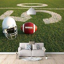 Fototapete Fußball Moderne Wandbild Tapete 3D -