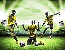 Fototapete Fussball Stadion 396 x 280 cm Vlies
