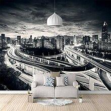 Fototapete Gebäude Mit Nachtansicht 3D Wandbilder