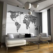Fototapete - Gedankenlandkarte