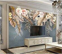 Fototapete Geprägte Blumen Tapeten Für Wände 3D