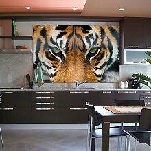 Fototapete Giant Art XXL Tiger 200 cm x 86 cm