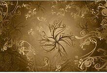 Fototapete Gold 254 cm x 368 cm Komar