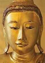 Fototapete Golden Buddha (4tlg.)