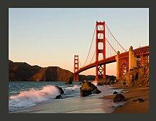 Fototapete Golden Gate Brücke - Sonnenuntergang ,