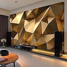 Fototapete Golden Mauer Vlies Tapete Wohnzimmer