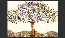 Fototapete Goldener Baum 210 cm x 300 cm