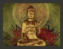 Fototapete Goldener Buddha 193 cm x 250 cm East