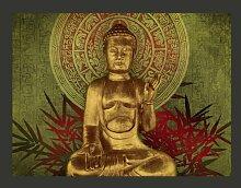 Fototapete Goldener Buddha 309 cm x 400 cm East