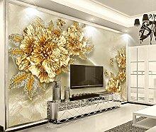 Fototapete Goldener Diamant 430x300cm 4XL
