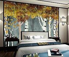 Fototapete Goldener Wald Der Weinlese 150x105cm S