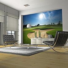 Fototapete Golfplatz cm 200x154 Artgeist