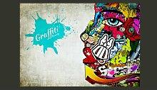 Fototapete Graffiti Beauty 245 cm x 350 cm