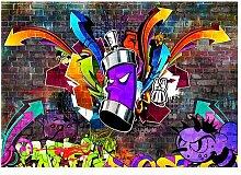 Fototapete Graffiti: Colourful Attack