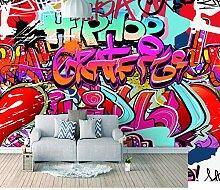 Fototapete Graffiti-Kunst Moderne Wandbild Tapete