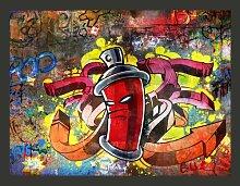 Fototapete Graffiti Monster 231 cm x 300 cm