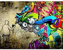 Fototapete Graffiti Streetart 396 x 280 cm Vlies