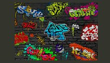 Fototapete Graffiti wall 280 cm x 400 cm