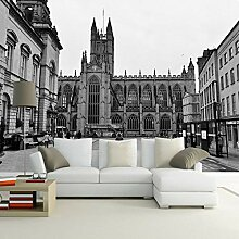 Fototapete Graue Stadt 3D Wandbilder Für