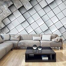 Fototapete - Gray background 3D