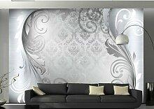 Fototapete Gray Ornament 245 cm x 350 cm