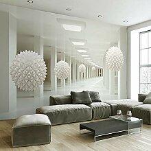 Fototapete Große Wandmalerei Moderne 3D