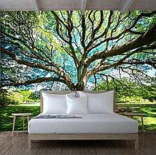 Fototapete Großer Baum 3D Wandbilder Für