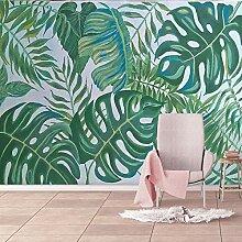 Fototapete Grüne Blätter 3D Wandbilder Für